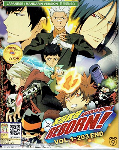 KATEKYO HITMAN REBORN ! - COMPLETE ANIME TV SERIES DVD BOX SET (203 EPISODES)