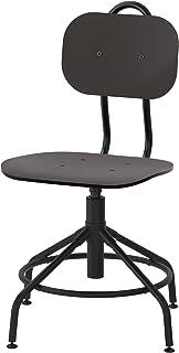 IKEA 903.255.18 Kullaberg - Silla giratoria, color negro