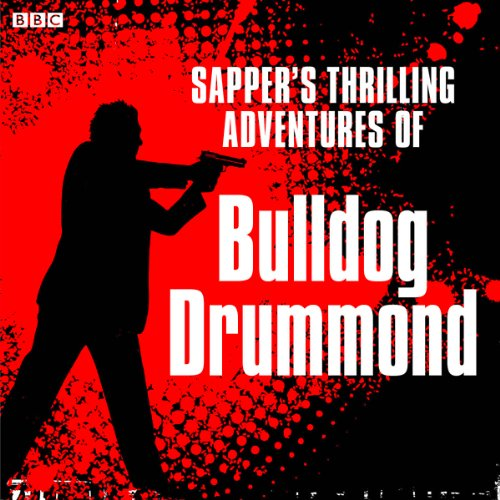 Sapper's Bulldog Drummond cover art