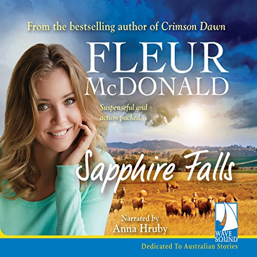 Sapphire Falls audiobook cover art