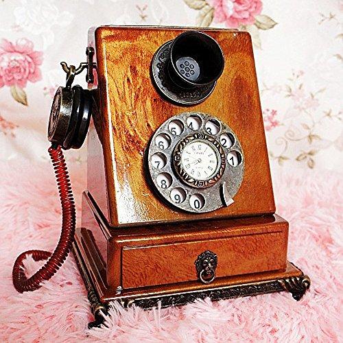 XUQIANG Teléfono Retro Modelo de Disparo Prop decoración del hogar 15 X 10 X 18 CM Artesanía