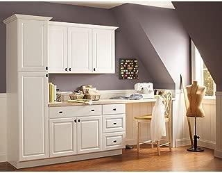27x30x12 in. Hampton Wall Cabinet in Satin White