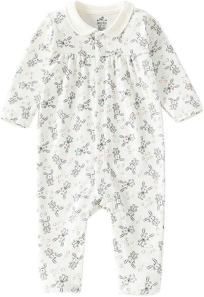 Overseas parallel Cheap SALE Start import regular item Zanie Kids Baby Girl Coveralls Sle Footless Longsleeves Romper