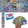 200 Piezas Pokemon Cartas, Cartas de Pokemon GX Trainer, Flash Cartas, Sun & Mood Series, Cartas Coleccionables (170GX +20Energy + 10Trainer) de YNK