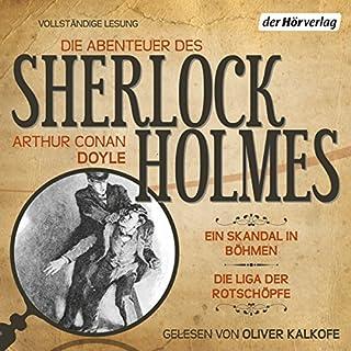 Ein Skandal in Böhmen / Die Liga der Rotschöpfe (Die Abenteuer des Sherlock Holmes) Titelbild
