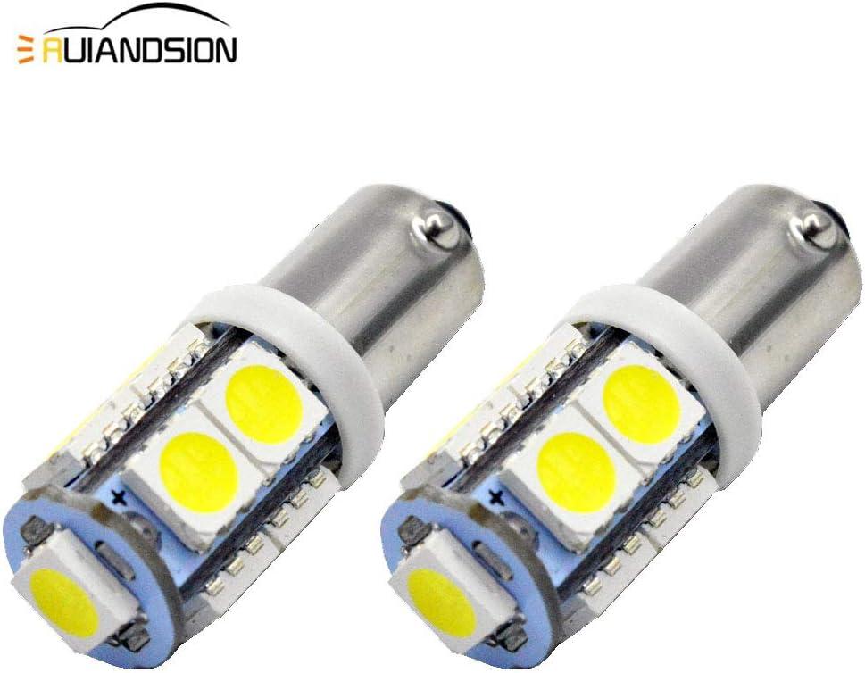 2x Backup Reverse Light H21W Bay9s 433D 60W LED Car Parking Light White 6SMD ZES