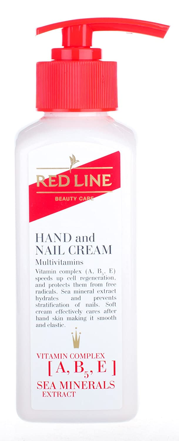 Red Line Hand and Inventory cleanup selling sale Nail Cream Oz 6.7 National products Fl Multivitamins Ml 200