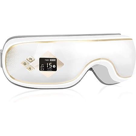 【2021夏記念】GALOPAR アイウォーマー 最新グラフェン加熱技術 目元エステ 液晶ディスプレイ Bluetooth USB充電 目もと 男女兼用 父の日 ギフト プレゼント 目元ケア 通気性