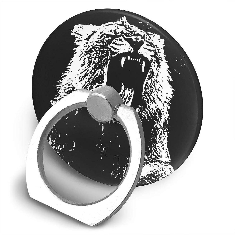 ビジョン提唱する大量モダン ミュージシャン マーティン ギャリックス 熊? スマホ リング ホールドリング 指輪リング 薄型 おしゃれ スタンド機能 落下防止 360度回転 タブレット/スマホ IPhone/Android各種他対応