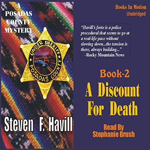 A Discount for Death audiobook cover art