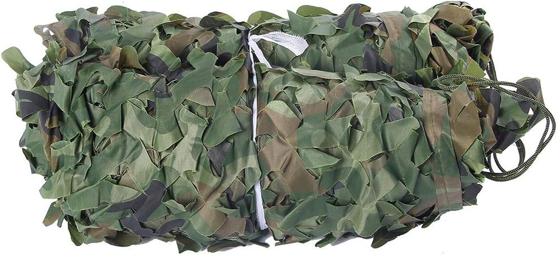 Chunlan Tarnnetz Grün 3D SchnittBlaume Oxford Tuch Leicht Und Kompakt Leicht Zu Tragen Für Zelten Verstecken Sonnenschutz Beschattungsnetz (Größe   5x10m)
