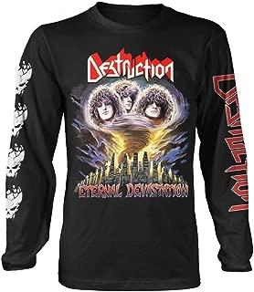 Eternal Devastation' (Black) Long Sleeve Shirt