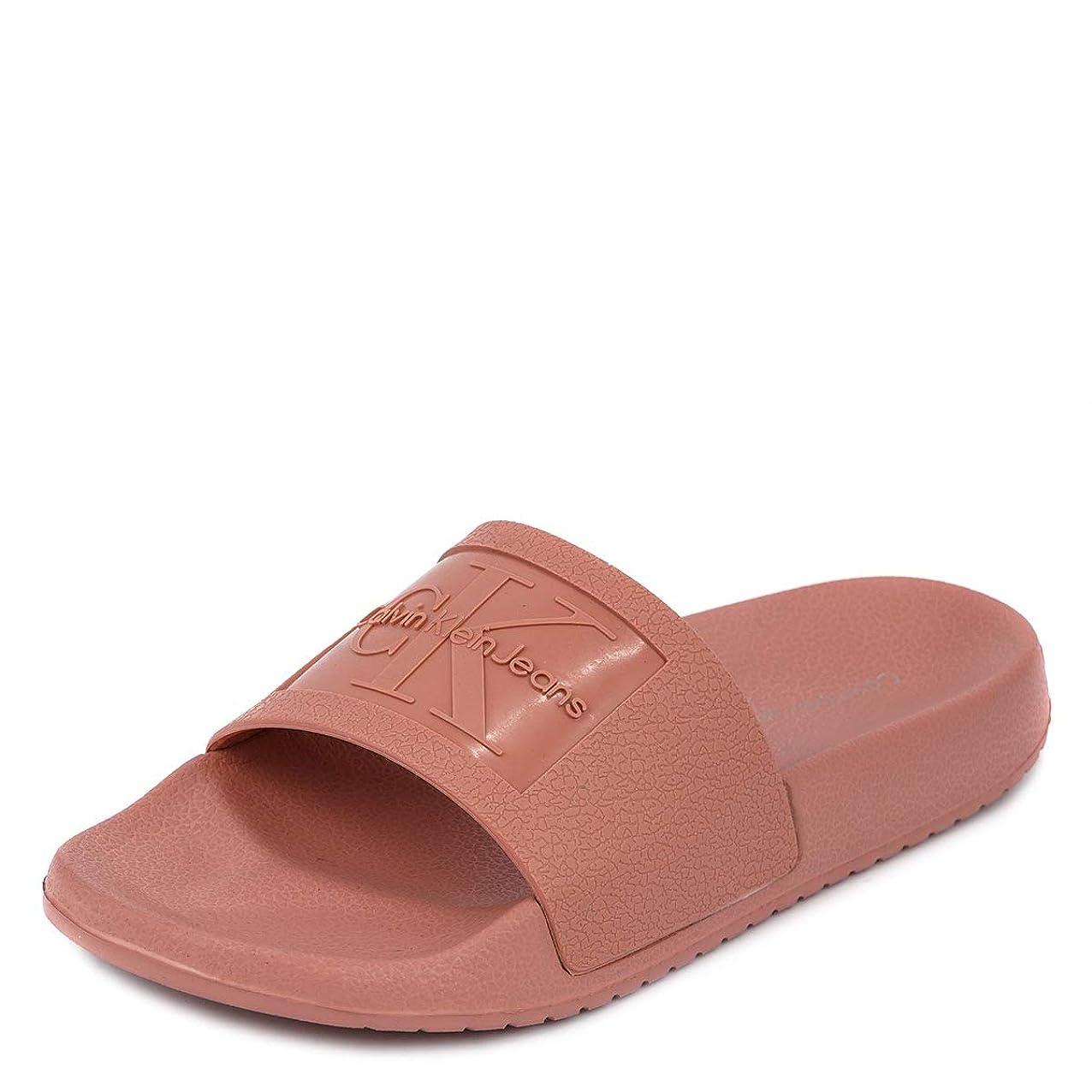 荷物ケイ素荒らす[カルバンクライン ジーンズ]Calvin Klein Jeans 34R8837 CHRISTIE JELLY SANDALS DUSK size9 [並行輸入品]