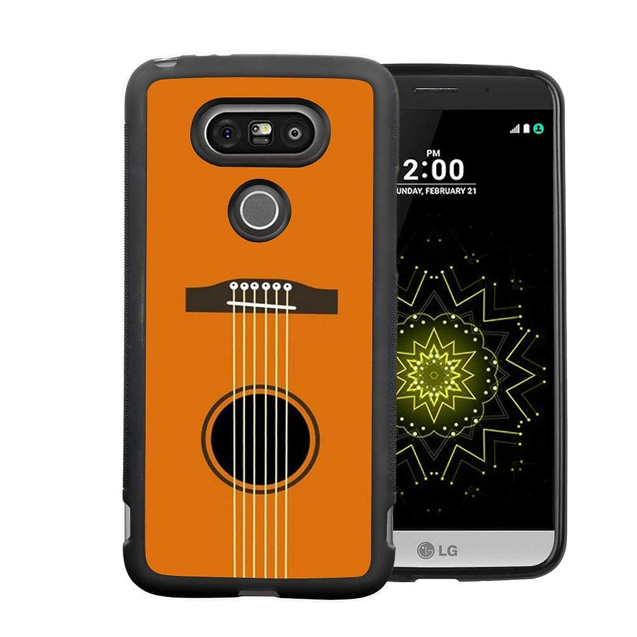 Creative Designs Guitar Strings PC and TPU Anti-Scratch Phone Case for LG G5