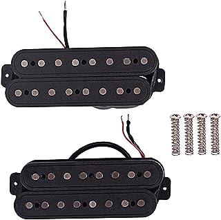 Artibetter 8 cuerdas alnico humbucker cuello pickup doble bobina puente pickup