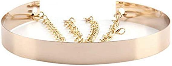 Afinder Guirnalda de flores para novia cintur/ón accesorio para el pelo con faja diadema con halo