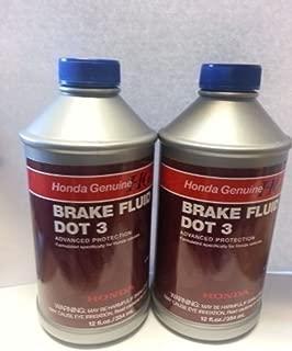 Genuine Honda And Acura Brake Fluid Dot 3 (Pack Of 2)