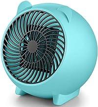 LIBO Calefacción Azul/Blanco/Rosa Mini Calentador Calentador Lindo Hogar Escritorio Calentador Inteligente Enchufe Cn Gran Figura pequeña y cálida, Enchufe Cn