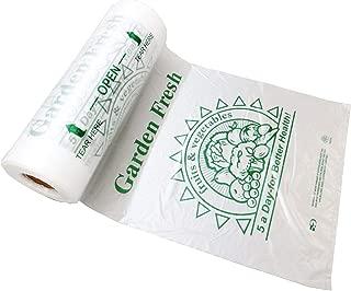 Plastic Bag Rolls-HDPE 5 A-DAY Produce Rolls 12