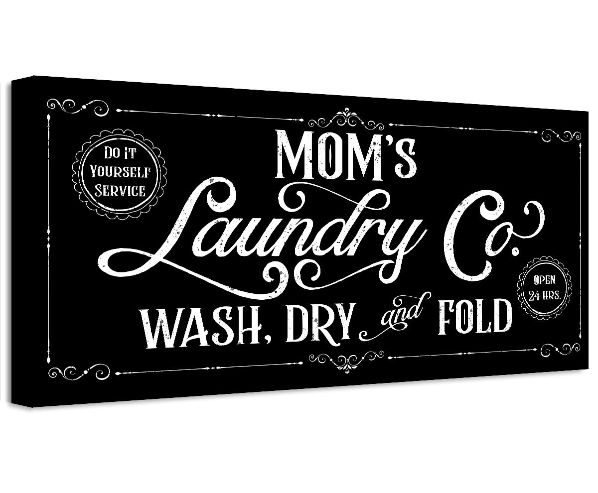 Mom's Laundry Co Max 84% OFF - Unframed and Gift Great Print Housewarming SALENEW very popular!
