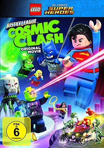 DVD Lego DC Comics Super Heroes Justice League Cosmic Clash [Import]