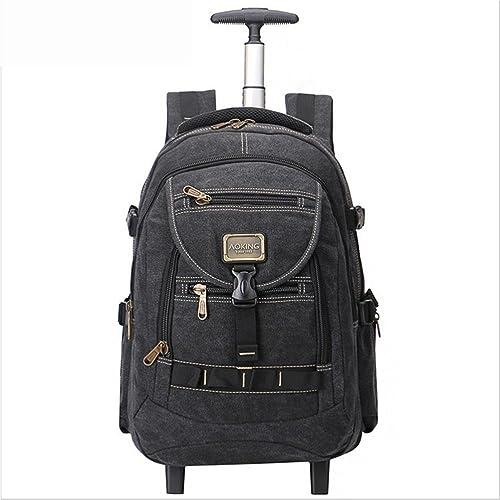 sac à dos portable Sac à dos sac à doss Poids léger rougeation à 2 roues 360 °15.6 sac à dos pour Entreprise Voyage sacage Valise Daypack