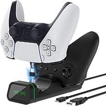 Base de carregamento para controle PS5/Xbox Series S/X/Controller/Nintendo Switch Pro/controlador Google/controlador Xbox ...