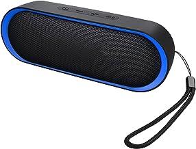 Enceinte Bluetooth, Enceinte Portable 12W, Enceinte Bluetooth Waterproof, 24H de Lecture, Haut Parleur Bluetooth avec Micr...