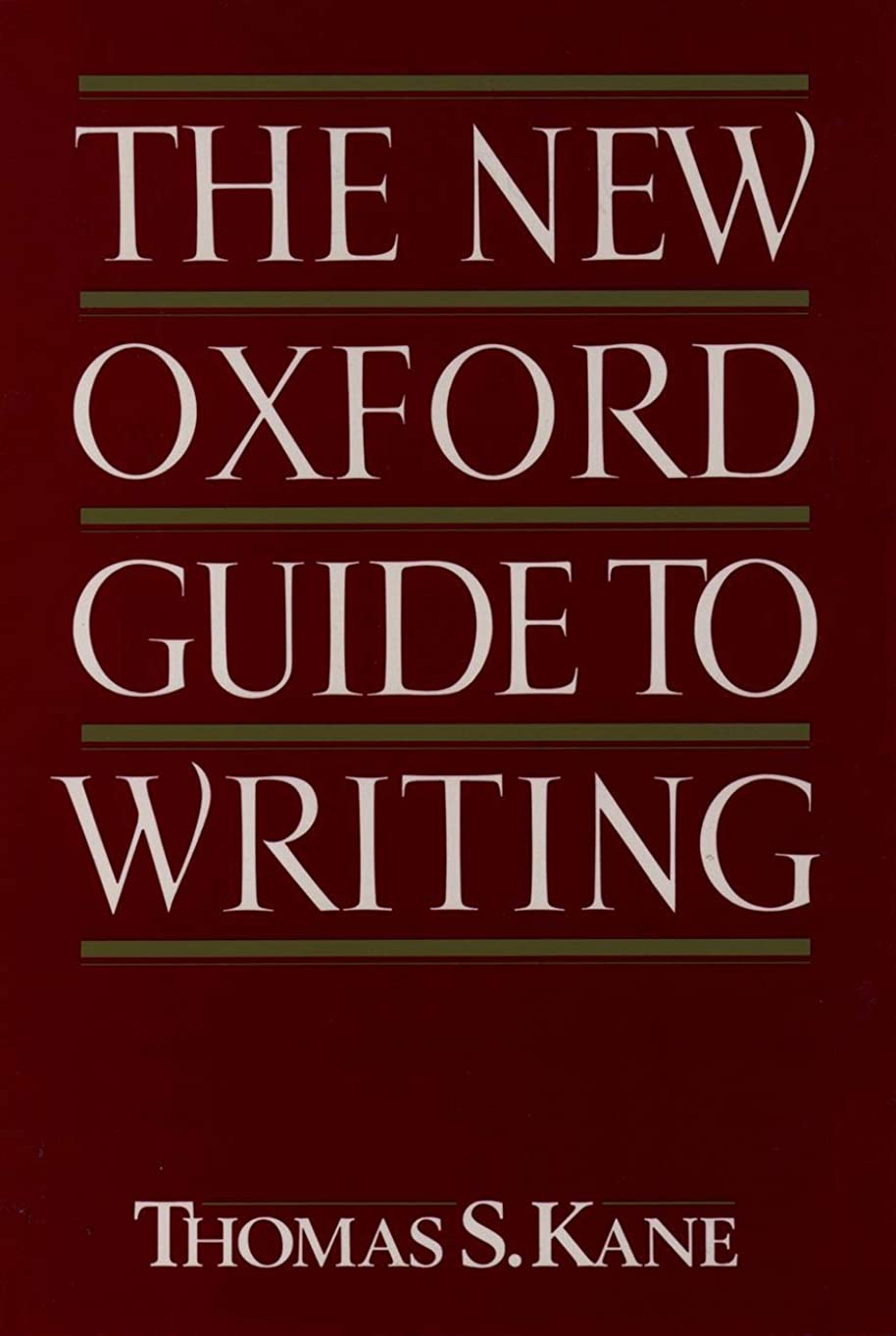 サラダパントリー単調なThe New Oxford Guide to Writing