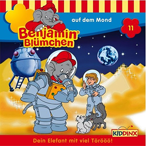 Benjamin auf dem Mond audiobook cover art