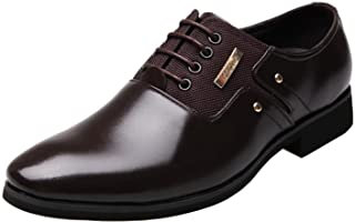 DADAWEN Chaussure Mocassins Homme/Classic Oxford Chaussures Cuir Homme