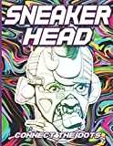 Sneaker Head Connect The Dots: Stress Relieving Activity Connect Dots Coloring Books For Adults, Teenagers