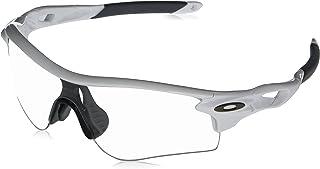 نظارات شمسية للرجال من Oakley Oo9206 Radarlock Path مقاس آسيوي لون أبيض مقاس: 38 ملم