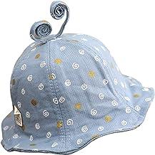 Mookiraer Baby Sun Hat Summer Beach UPF 50+ Sun Protection Baby Girl Hats Toddler Sun Hats Cap for Baby Girl Kid Bucket Hat Foldable