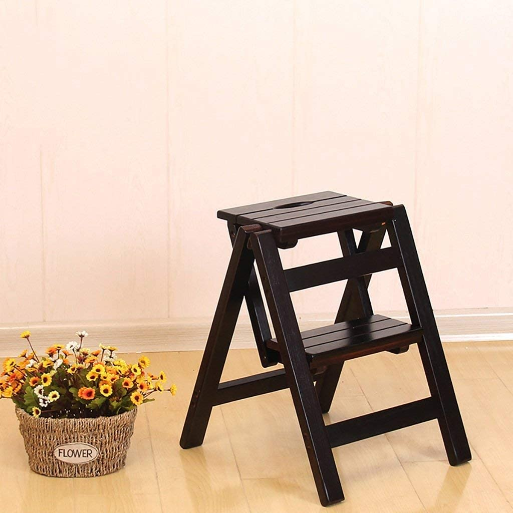 Sale item LSN Step Limited time for free shipping Stool for Adults Solid Fold Chair Wood Stair Household