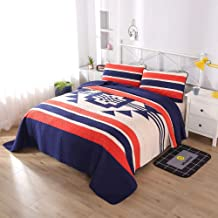 Babycare Pro Euro Style Quilt Cover Sets Queen Size, 100 Cotton Quilted Bedspread Bedding Sets for Queen Bed 3-Pieces, 1 Quilt Cover, 2 Pillowcases (Queen, Design)