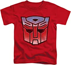 Transformers Vintage Autobot Logo Unisex Toddler T Shirt for Boys and Girls