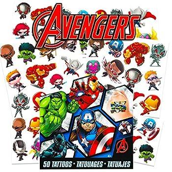 Marvel Avengers Temporary Tattoos for Kids  Avengers