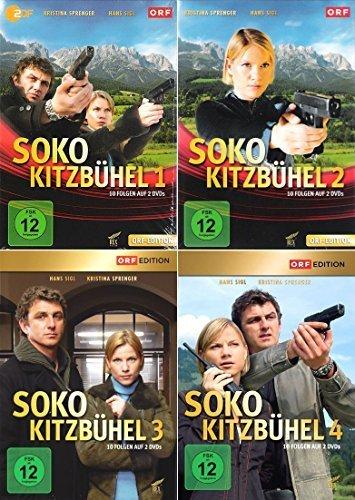SOKO Kitzbühel - Box 1-4 (8 DVDs)