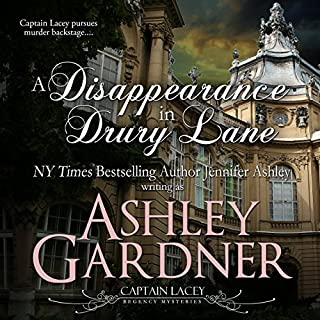 A Disappearance in Drury Lane audiobook cover art