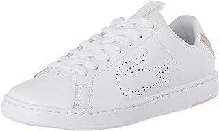 Lacoste Women's Carnaby EVO Light-WT 119 3 Fashion Shoes, WHT/LT PNK