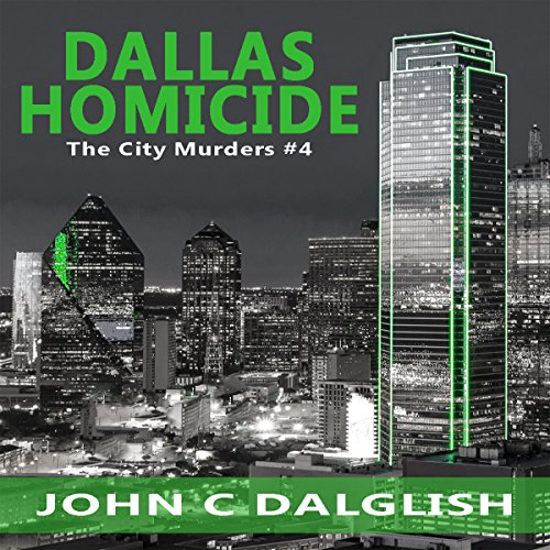 Dallas Homicide audiobook cover art