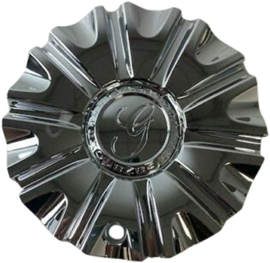 Gazario Wheels 11712285F-1 5 ☆ very popular 7812285C Cap Chrome Industry No. 1 Center Wheel