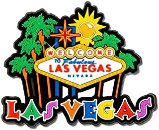 1 X Las Vegas Magnet - Rubber Sign, Las Vegas Magnets, Las Vegas Souvenirs