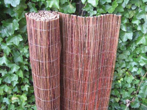 Pflanzen-Versand Weidenzaun Weidenmatte Sichtschutz versch. Größen (100 x 300cm)