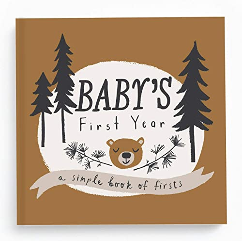 Baby Memory Book Baby Journal and Photo Album Baby Books First Year Memory Book Baby Memory Book of Firsts Little Cam...