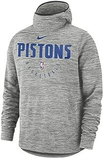 Nike Detroit Pistons Mens Spotlght Hoodie Pull Over 940959-091