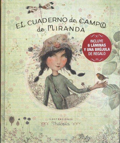 Cuaderno de campo de Miranda (Pack + 6 láminas y brújula de regalo)