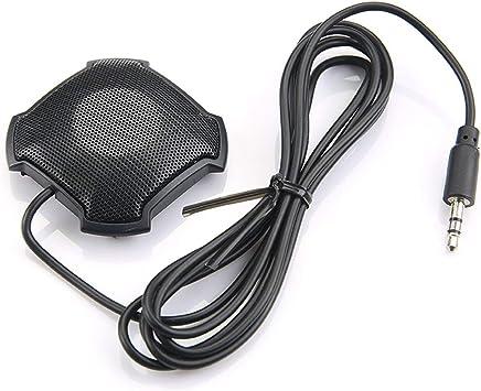 Jiobapiongxin Microfono Pickup omnidirezionale con Microfono per conferenza a condensatore Jack Audio da 3,5 mm per Skype VOIP Call Voice Chat JBP-X - Trova i prezzi più bassi