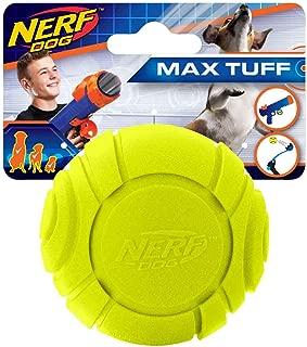 Nerf Dog 2in Squeak Tennis Ball 2-Pack - NEON Green/Yellow